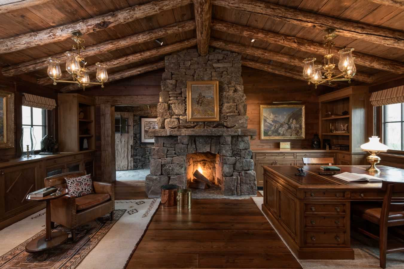 15 Motivational Rustic Home Office Designs That Will Inspire You 6