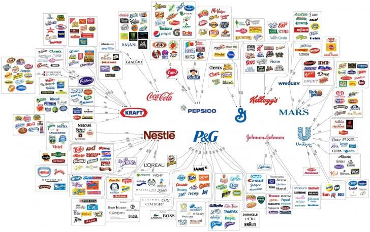 empresas controlam tudo você consome