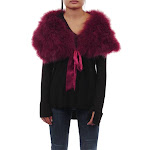 Feathered Wrap One Size / Wine