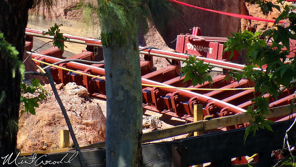 Disneyland, Big Thunder Mountain Railroad, Refurb, Refurbishment, Frontierland