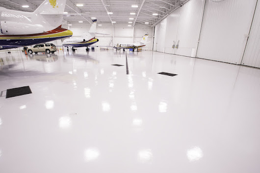 White Epoxy Floors: The Perfect Sanitary Look