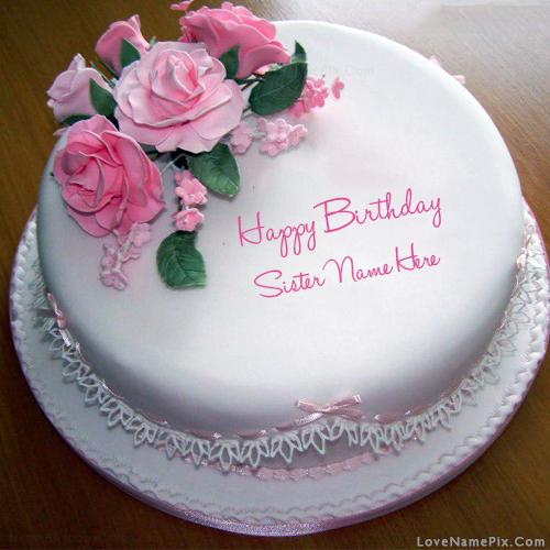 Name Generator In Birthday Cake