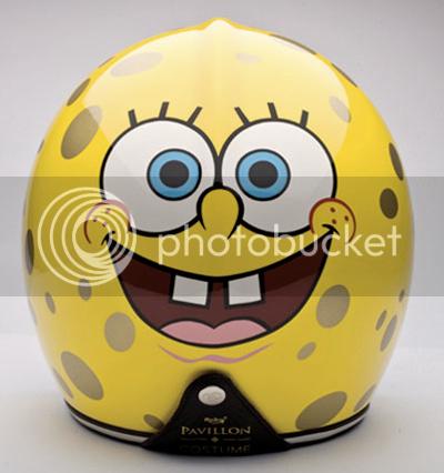 Sponge Bob Square Pants Pavillon Helmet 3
