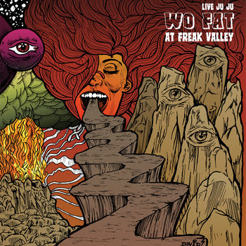 Live Juju: Wo Fat at Freak Valley cover art