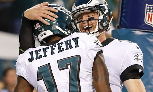 Alshon Jeffery, Carson Wentz React to Jeffery's New Eagles Deal