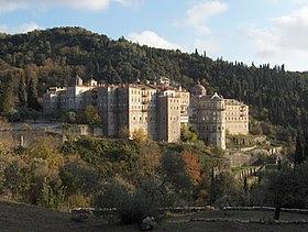 Monastère de Zographou sur le mont Athos