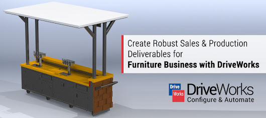 Create Robust Sales & Production Deliverables for Furniture Business with DriveWorks
