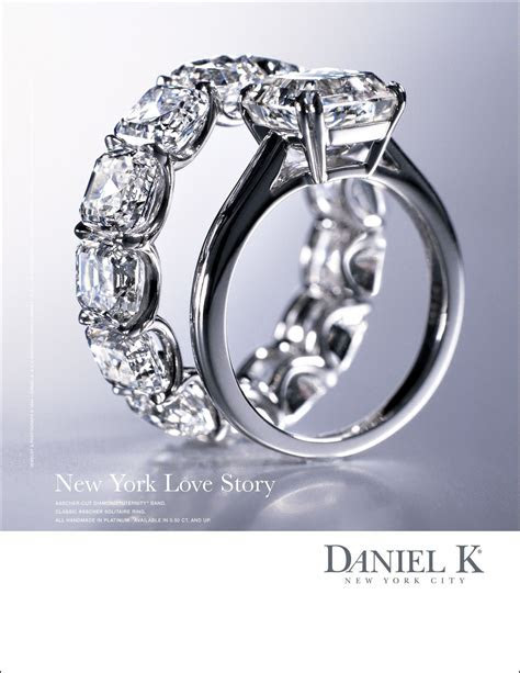 "New York Love Story   Asscher Cut Diamond ""Uternity"" Band"