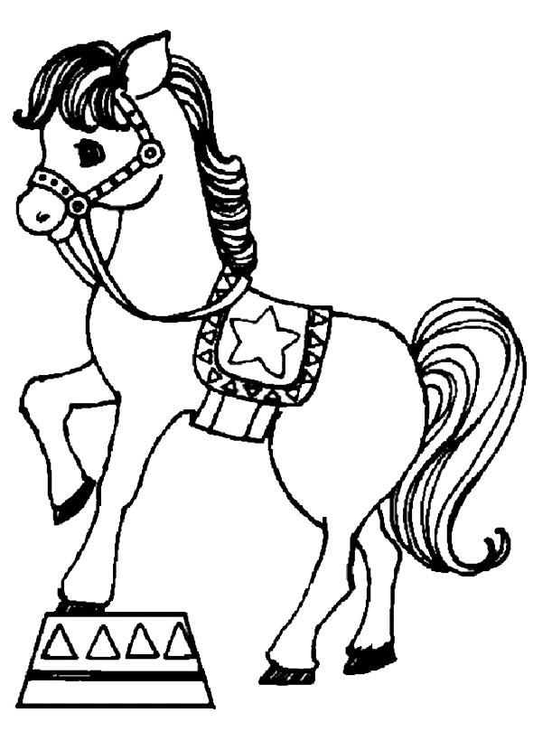 Malvorlagen Pferde 6 Gratis Malvorlagen