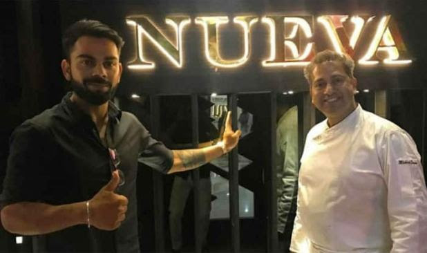 Image result for virat kohli at nueva