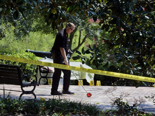 Body found at Confederate Memorial 1