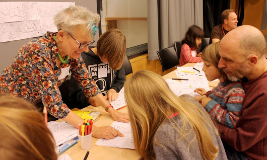 Cartoon and art family day - Saturday 10 October, Kings Place, London N1 | GNM education centre | The Guardian