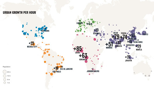 Cities in numbers: how patterns of urban growth change the world | Cities | The Guardian