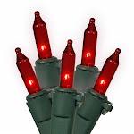 Vickerman W5G1003 100Lt Red-Gw Ec Lock Set 5.5 in. Sp 46 ft. L Bx