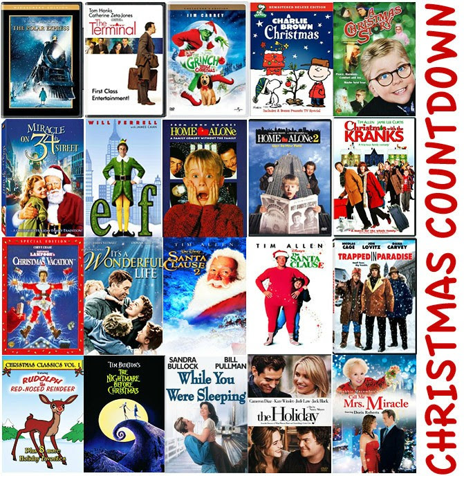 Christmas movies Collage