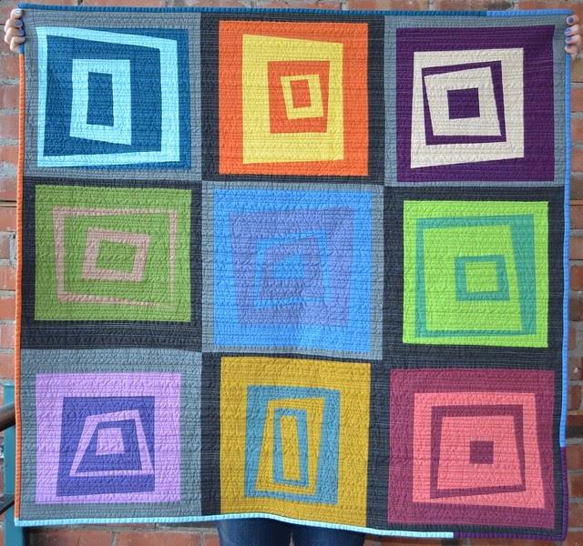 she can quilt: Flash - Ta Da! - Artisan Cotton Blog Hop