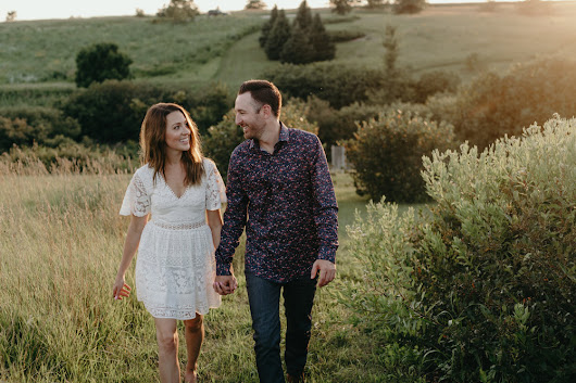 Melissa + Mason: Iowa Engagement Session