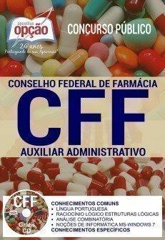 Apostila Concurso CFF 2017 | AUXILIAR ADMINISTRATIVO