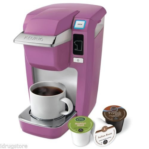 Keurig K10/B31 Mini Plus K-Cup Coffee Maker Brewer - Orchid Pink from Coffee Makers at the ...