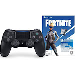 Sony DualShock 4 Wireless Controller (Fortnite Bonus Content Bundle)