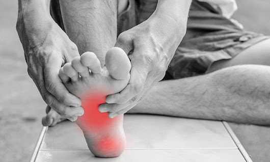 Foot pain depends on your age and the lifestyle you lead