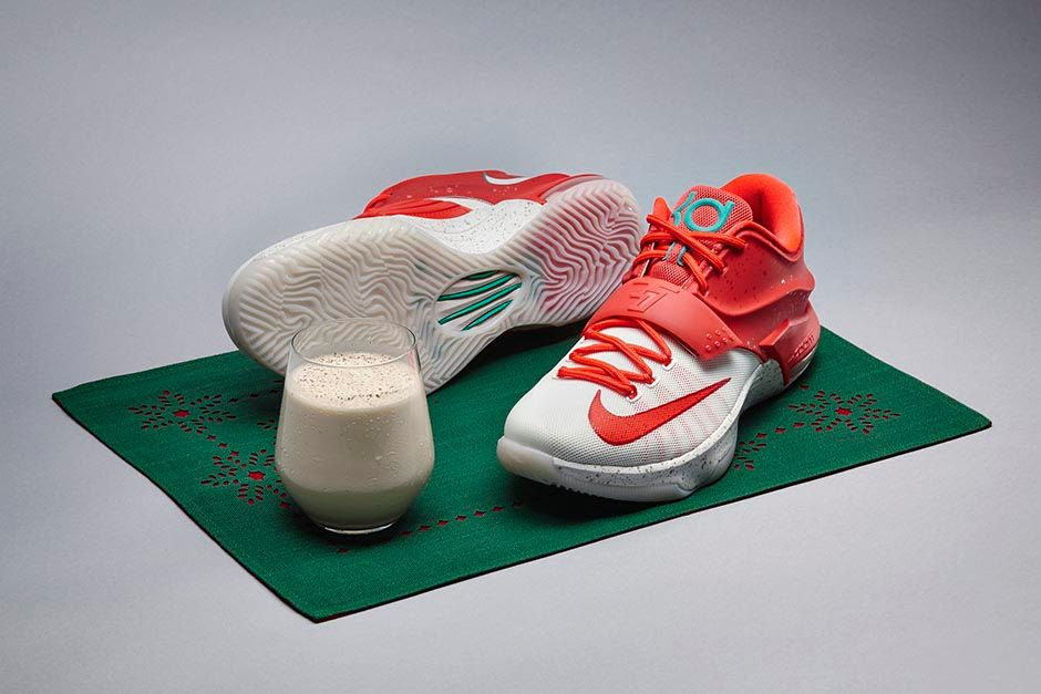 Bmf Holiday Nike Kd7 Egg Nog Hardwood And Hollywood