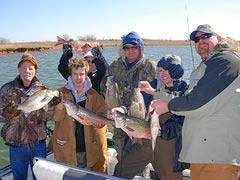 Lake Sooner Oklahoma Fishing Guide David Clark