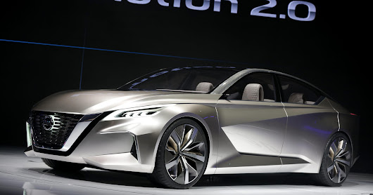 Nissan Vmotion concept may point to next Altima