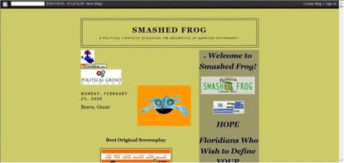 Smashed Frog