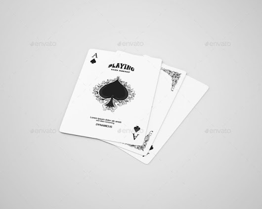 7+ Best Playing Card Mockup PSD To Showcase Poker and Casino Designs | PSDTemplatesBlog