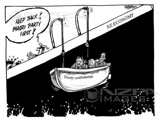 Jim Hubbard political cartoon - 26 April 2009