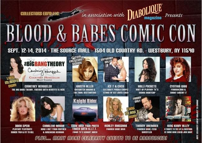 Long Island Blood & Babes Comic Con