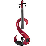 Stagg EVN 4/4 MRD Metallic Red Silent Violin Set