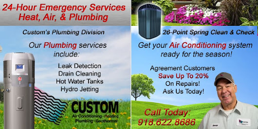 5 Signs That You Need Your Air Conditioning System Replaced | Custom Services