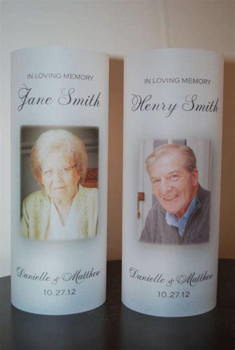 In Loving Memory Vellum Paper Luminary Wedding by