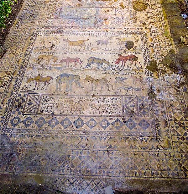 Νέο τεράστιο ελληνικό ψηφιδωτό του 5ου αιώνα ανακαλύφθηκε στα Άδανα