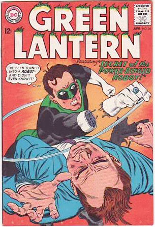 GL 30 / classic comic books of the 1960s / TV Blog