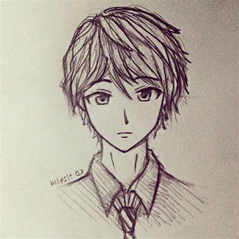 easy anime boy drawing  getdrawingscom