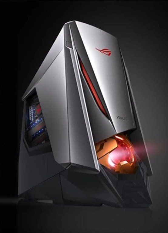 ASUS ROG GT51CH GAMING PC OVERVIEW CES 2017 !!!