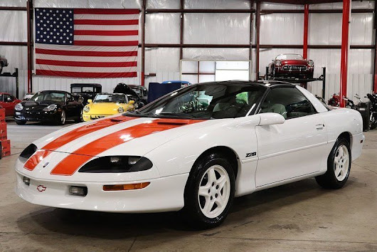 very nice 1997 Chevrolet Camaro 30th Anniversary for sale