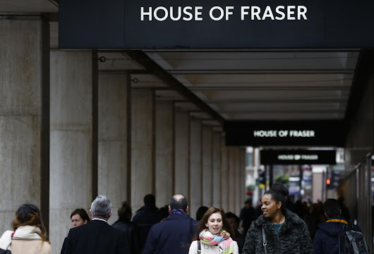 House of Fraser to close more than half of its stores putting 6,000 jobs at risk