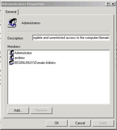 Samba Print Server Administrators