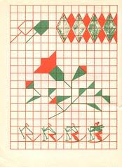 n1 cahier dessin carreau p17
