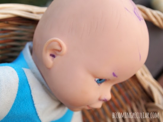 How To Remove Ballpoint Ink From A Doll Using A Surprising Secret