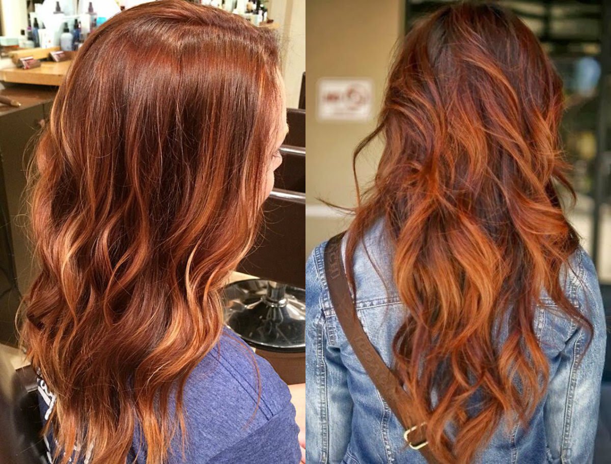 Light Auburn Hair  Colors  For Cold Winter Time Hairdrome com