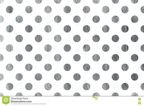 Silver Polka Dot Background. Stock Illustration   Image