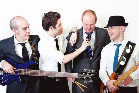 Four on the Floor Band are the Ideal Function and Wedding