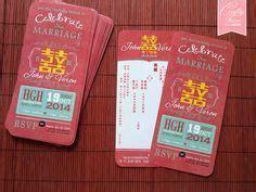 1000  ideas about Chinese Wedding Invitation on Pinterest