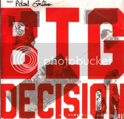That Petrol Emotion - Big Decision