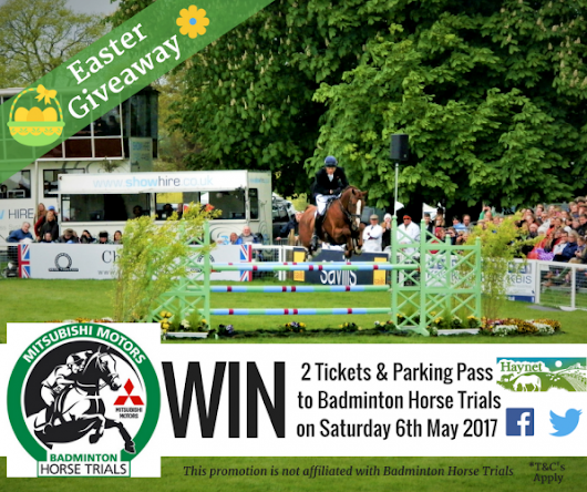 WIN Two Tickets & Car Pass to Badminton Horse Trials, 20% Off your Equine Photoshoot & more
